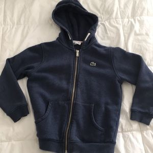 Lacoste hoodie for boys size 6
